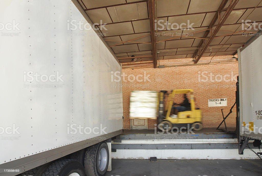 Rush Shipment royalty-free stock photo