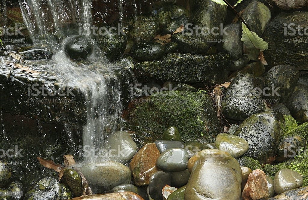 Rushing to Relax royalty-free stock photo