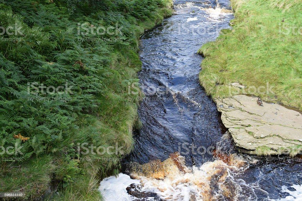 Rauschendes Wasser  Lizenzfreies stock-foto