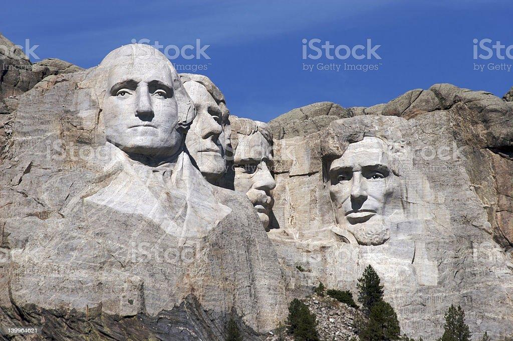 Rushmore royalty-free stock photo