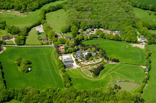 istock Russ Hill, Surrey, Aerial View 479489628