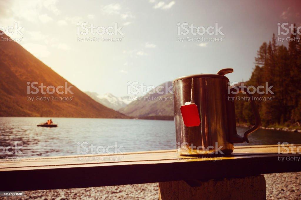 Russia, Altay, Kararol Lakes, Katun river royalty-free stock photo