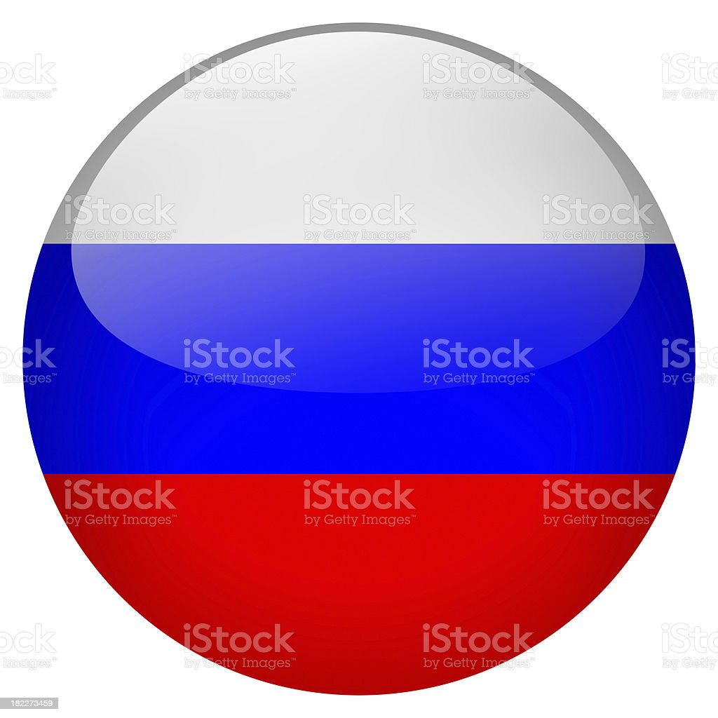 russia button royalty-free stock photo