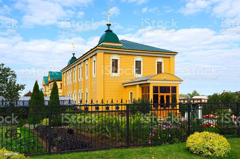 Russia, Diveevo, Holy Trinity Seraphim-Diveevo Monastery stock photo