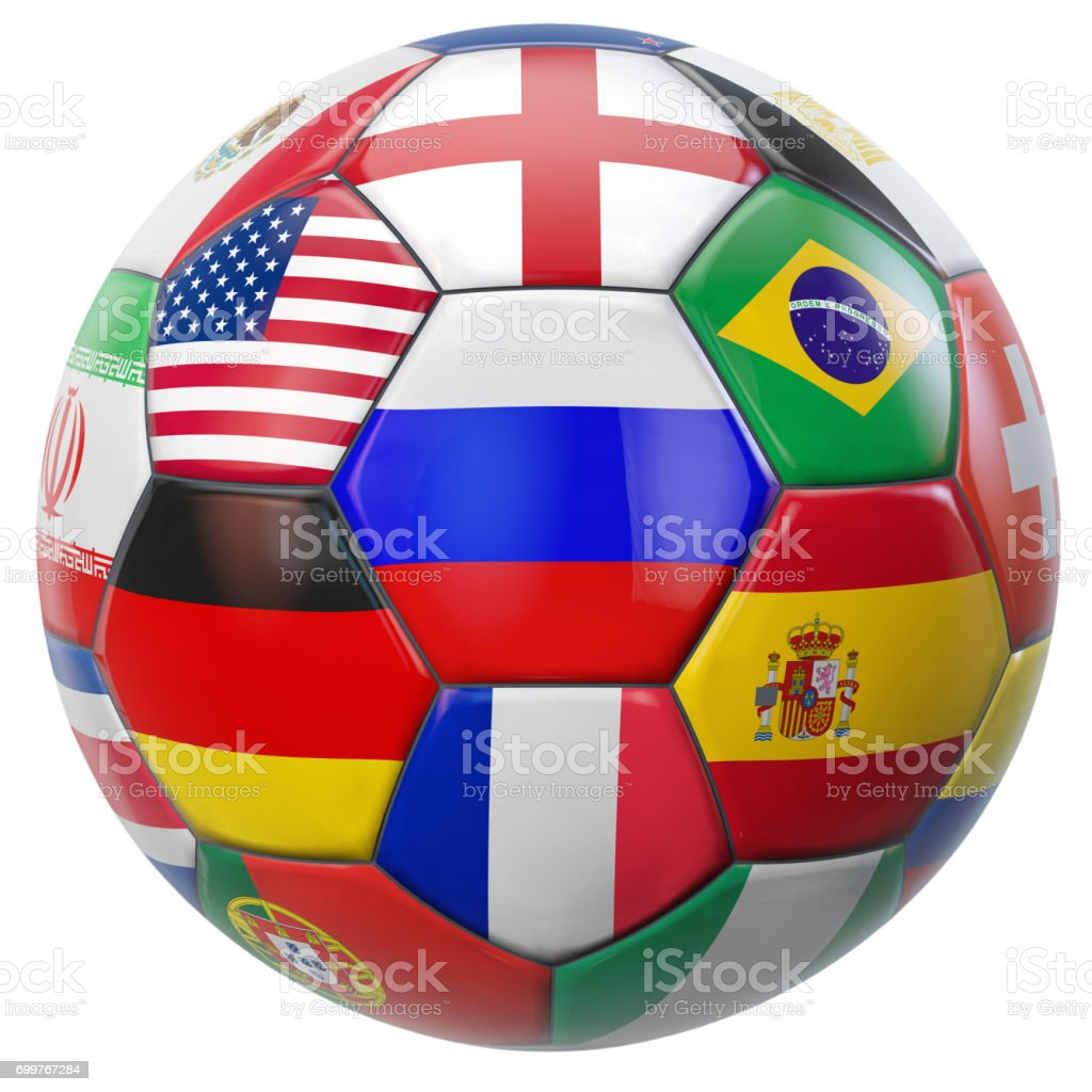 Russia Football stock photo