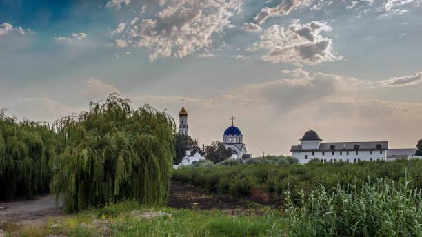 ロシア、クラスノダール地方。女性修道院の眺望 - クラスノダール市 ストックフォトと画像