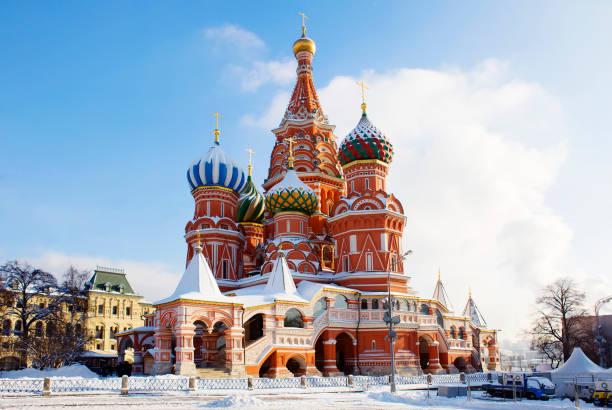 Russland. Moskau. Basilius Kathedrale. – Foto