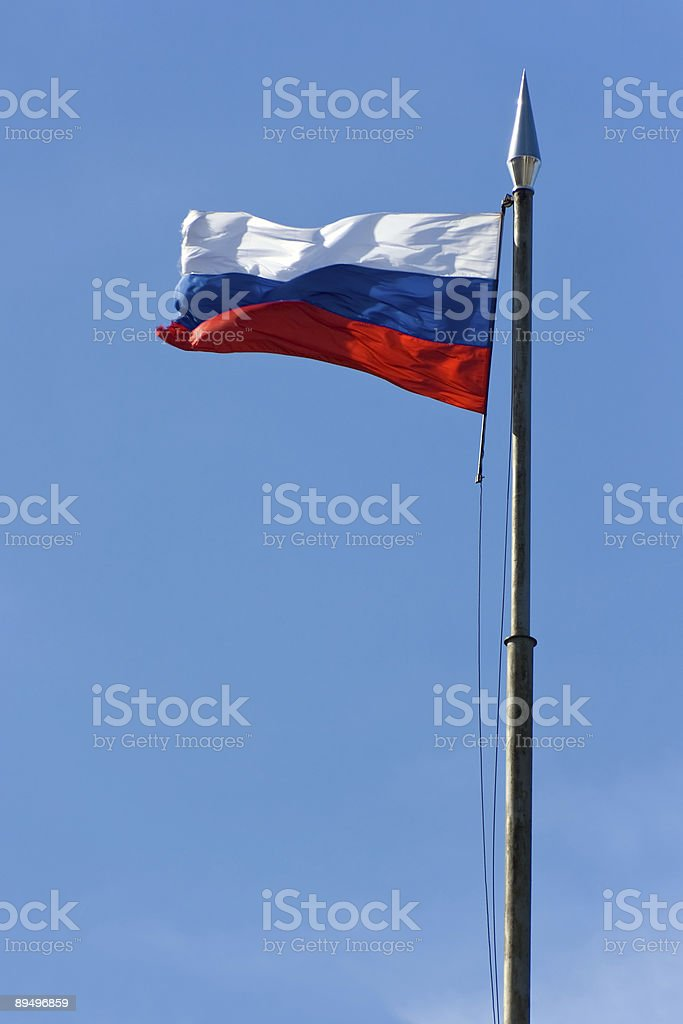 russia national flag royalty-free stock photo