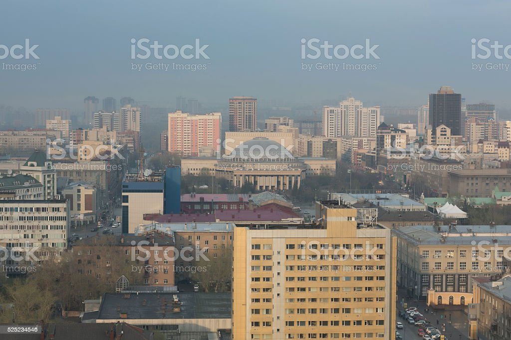 Russia. Novosibirsk. Opera and Ballet Theatre. NOVAT stock photo