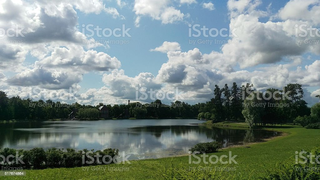 Russia, St Petersburg, Catherine's Palace stock photo