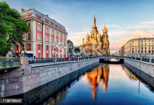 Russia, St. Petersburg - Church Saviour on Spilled Blood