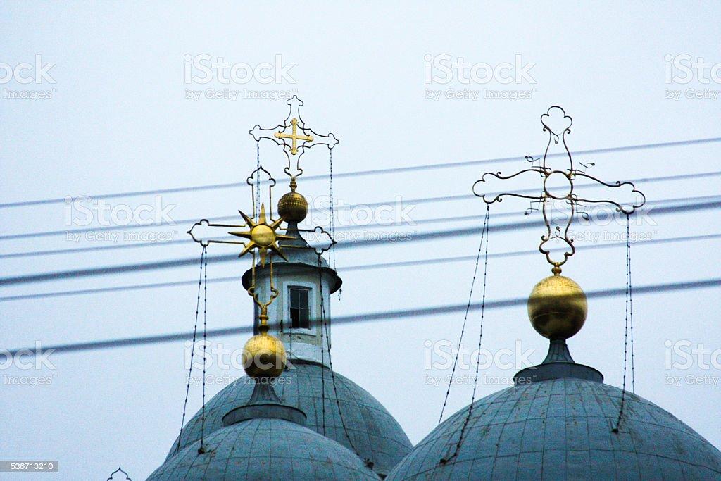 Russia, St. Petersburg. Vladimirskiy cathedral stock photo