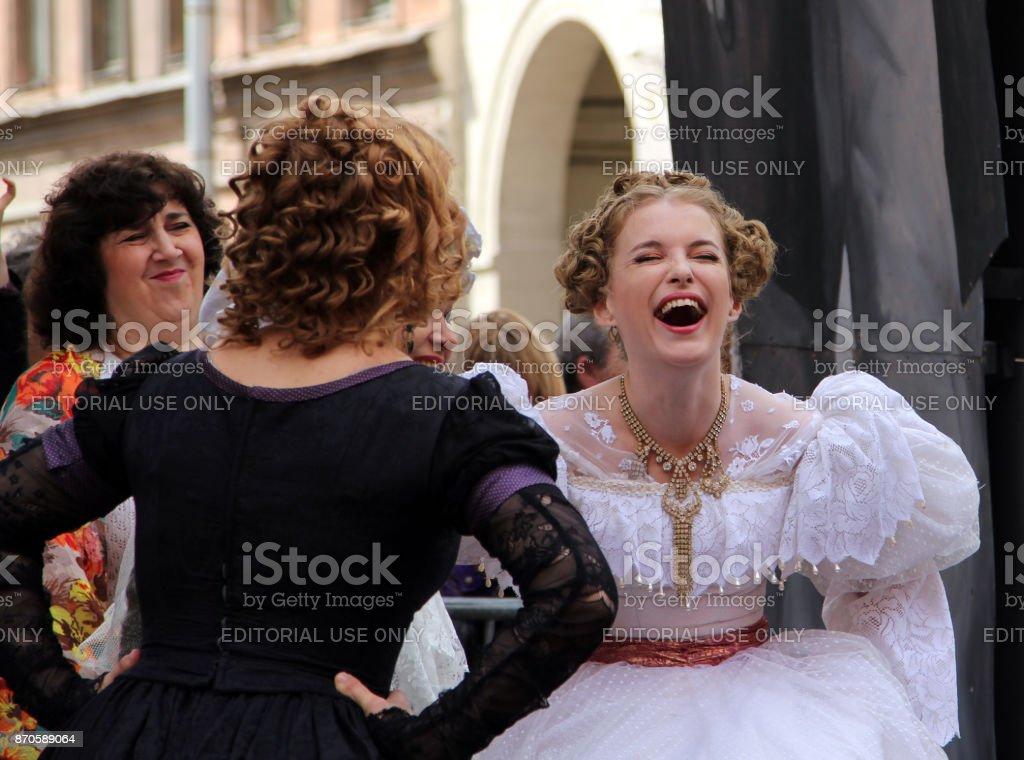 Schauspielerinnen russische Parade der