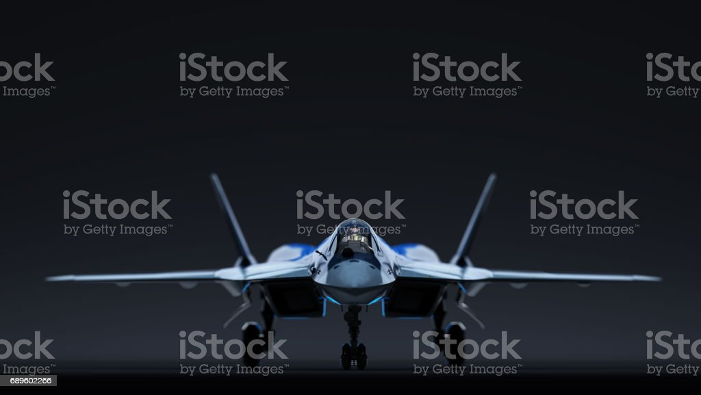 Russian aircraft stock photo