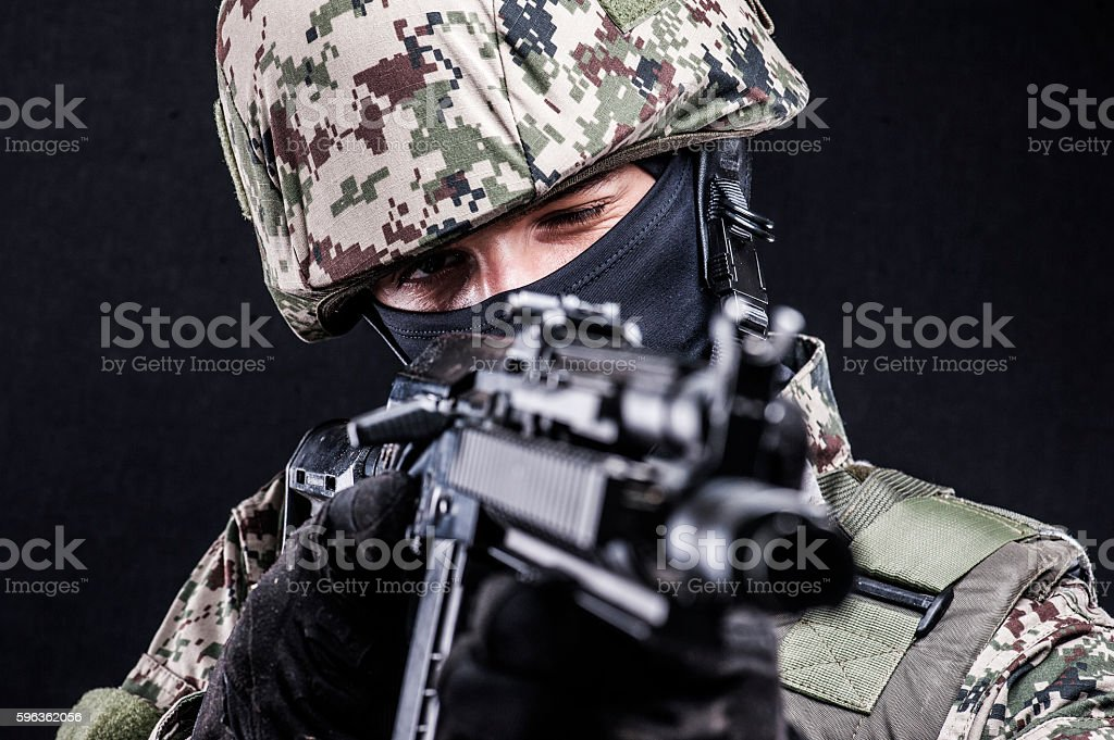 Russian armed forces royalty-free stock photo