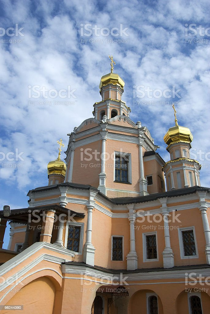 Russian cathedral. royalty-free stock photo