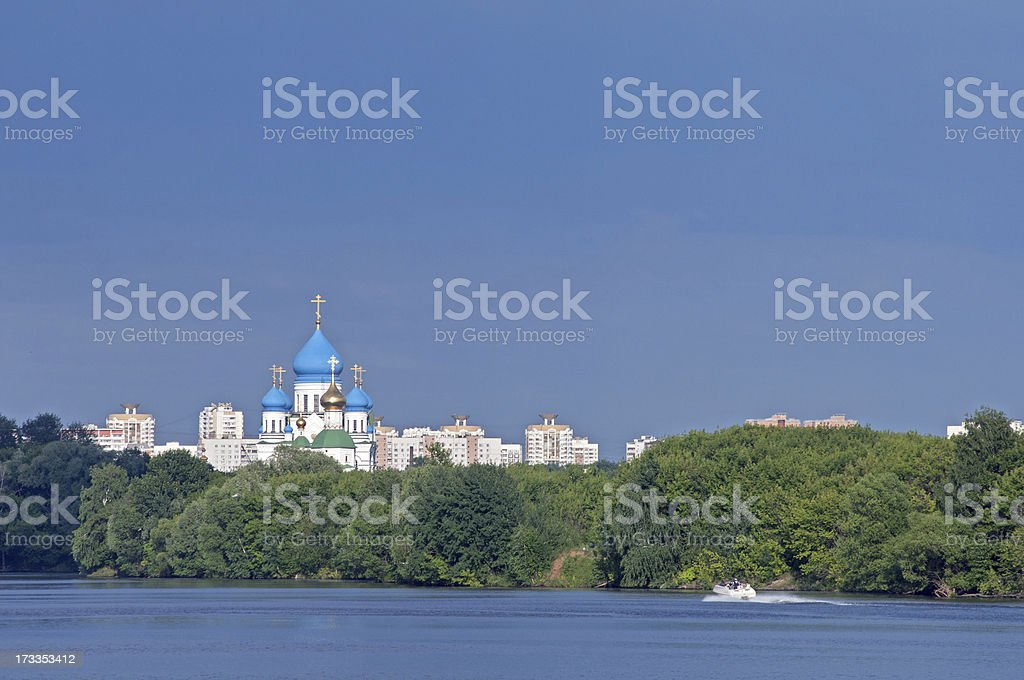 russian church royalty-free stock photo