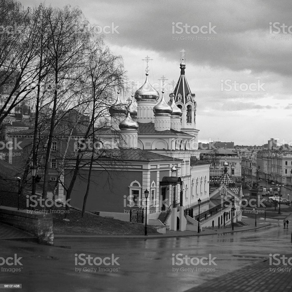 Chiesa russa foto stock royalty-free