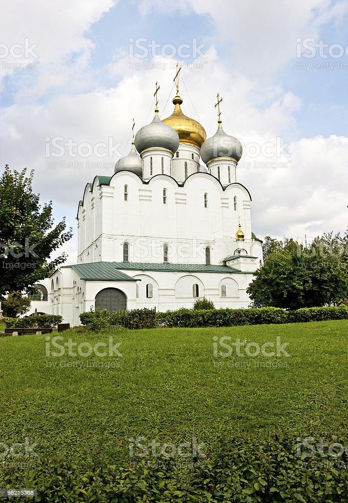 Russian church. royalty-free stock photo