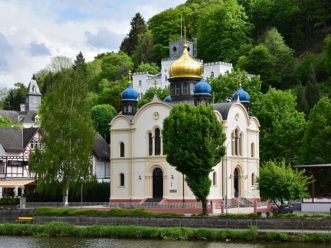 Russian Church with Onion Domes