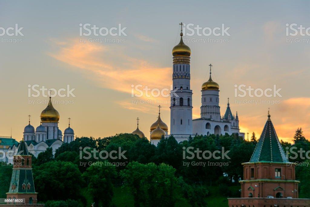 Russian churche, Moscow, Russia stock photo