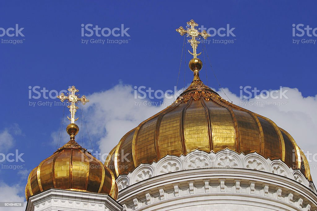 Russian Crosses royalty-free stock photo