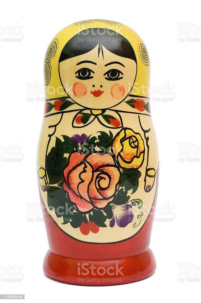 russian doll babushka royalty-free stock photo