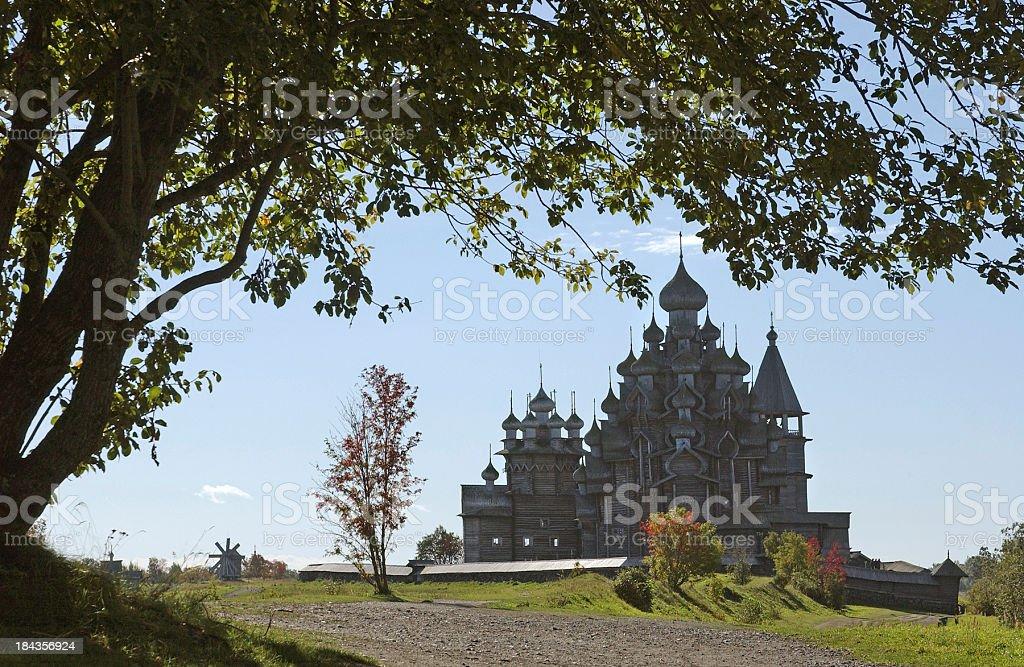 Russian Fairytale silhouette stock photo