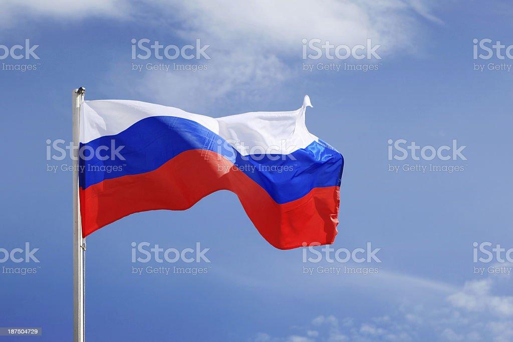 Bandeira Russa - foto de acervo