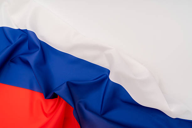 Russische Flagge  – Foto