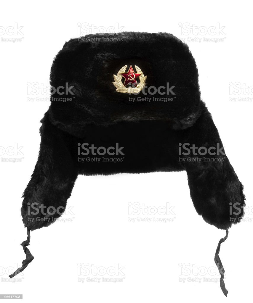 Russian Fur Hat royalty-free stock photo