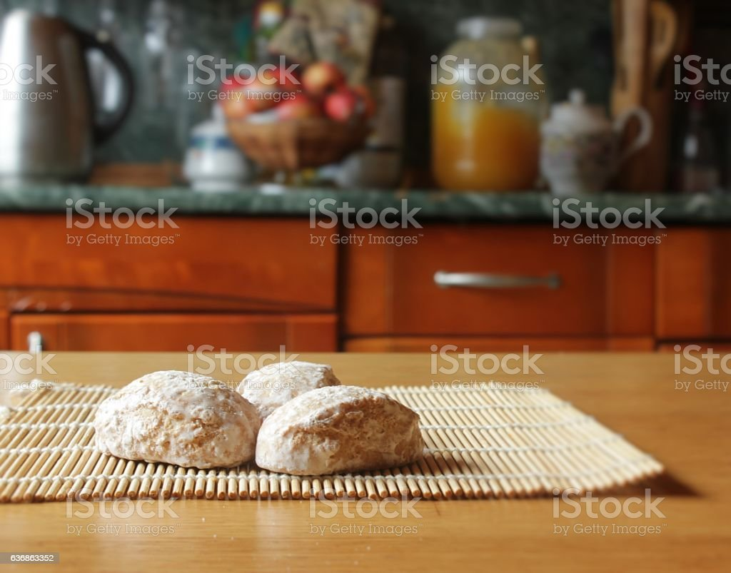 Russian gingerbread stock photo