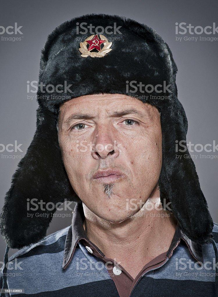 Russian man royalty-free stock photo