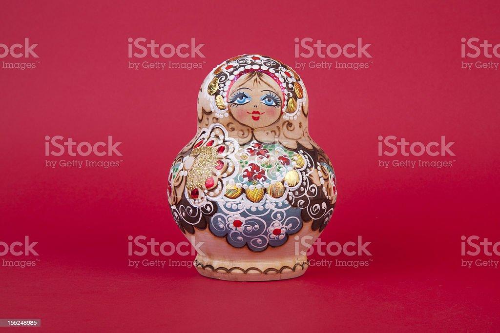 Russian Matrioshka royalty-free stock photo