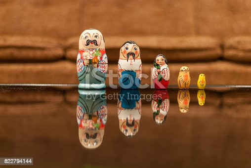 Russian Matryoshka Dolls Stock Photo & More Pictures of Art