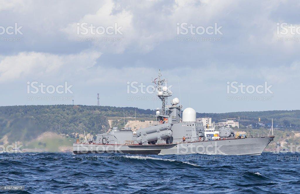Russian military ship – Foto