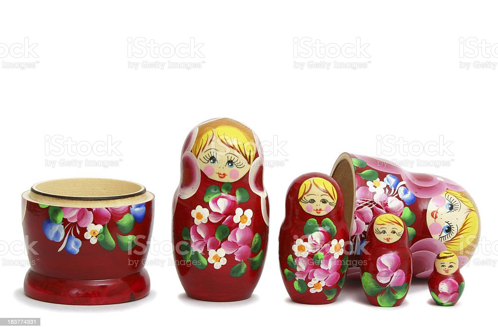 Russian Nesting Doll royalty-free stock photo