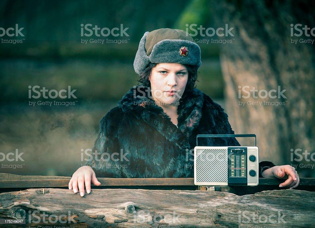 Russian news royalty-free stock photo