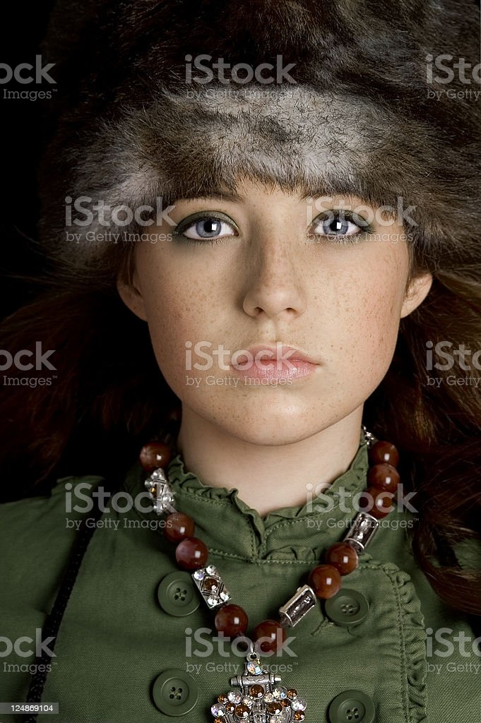 Russian Notes stock photo