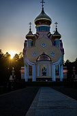 A Russian Orthodox church in Slavutych, the last atomograd (atomic city) built in the former Soviet Union. The city was built in 1986 to be a home for liquidators at the Chernobyl nuclear power plant and residents that had been evacuated from the nearby city of Pripyat. The history of Slavutych is inextricably bound to the Chernobyl nuclear disaster in 1986.
