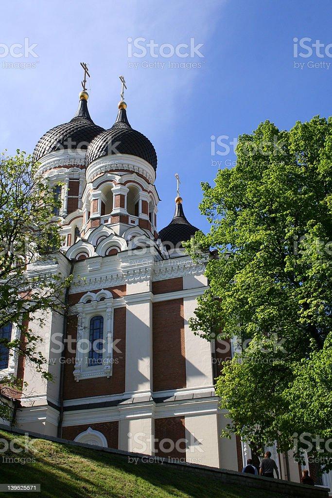 Russian orthodox church royalty-free stock photo