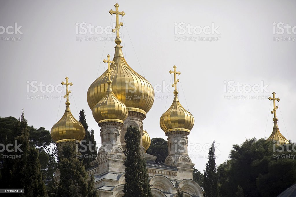 Russian orthodox church royalty-free stock photo