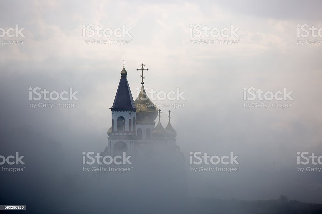 Russian Orthodox church royaltyfri bildbanksbilder