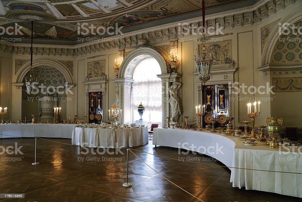 Russian Palace interior royalty-free stock photo