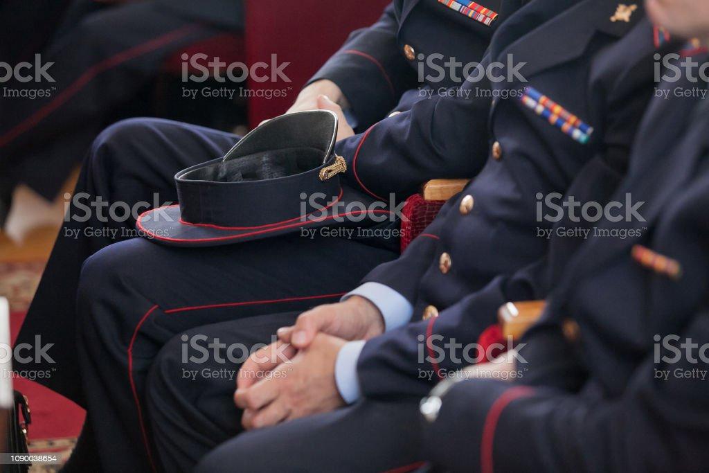 Rus polisi stok fotoğrafı