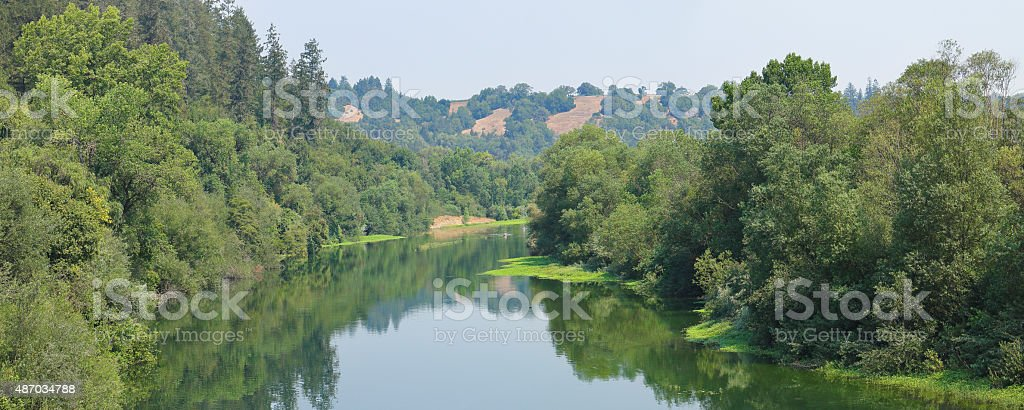Russian River - Sonoma stock photo