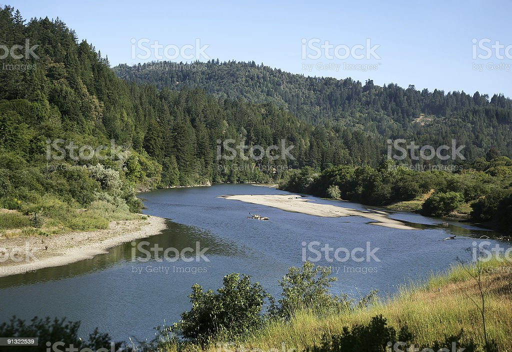 Russian River Valley stock photo