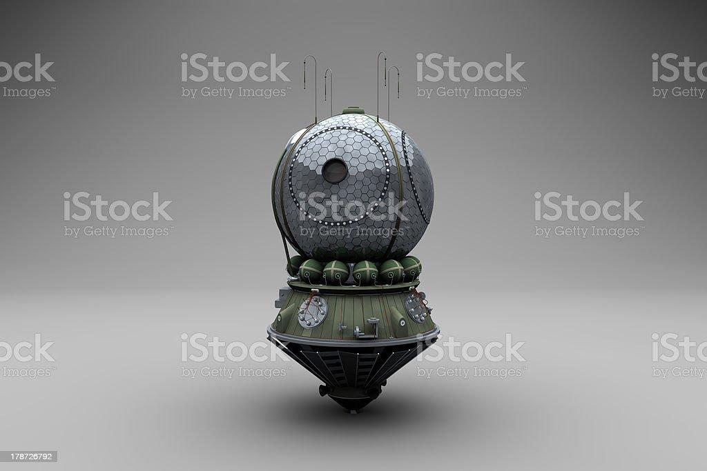 Russian space capsule stock photo
