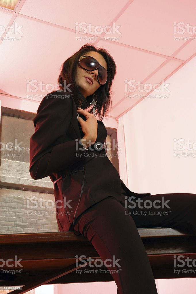 russian spy royalty-free stock photo