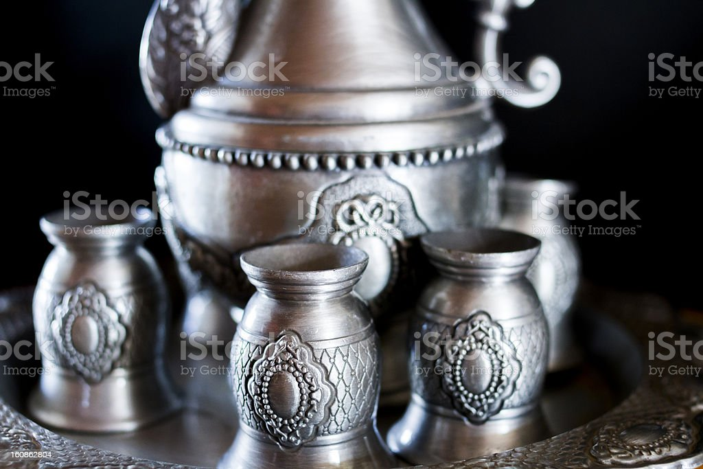 Russian Style Flagon royalty-free stock photo